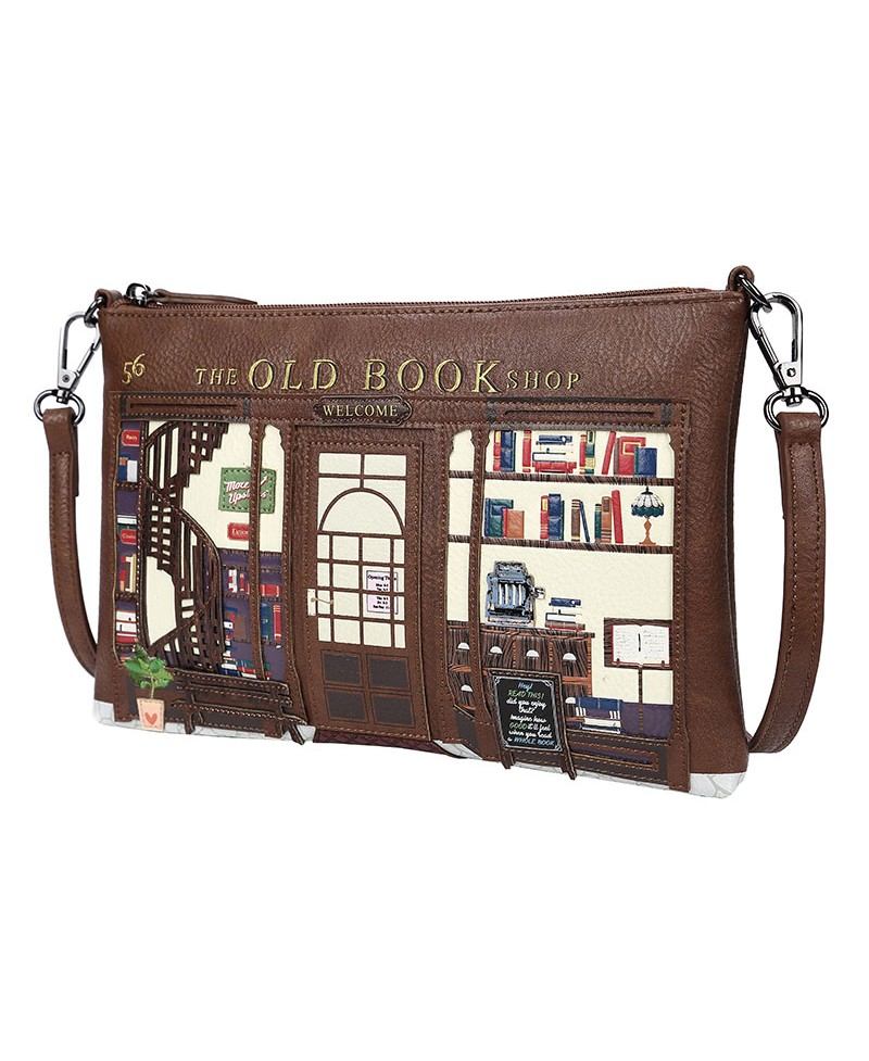 62e48c7ac Vendula Old Book Shop Café - Bolso Clutch
