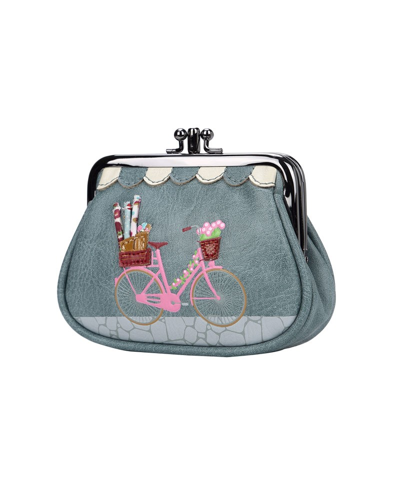 c4f998fb6 Vendula Sewing Shop Denim - Monedero con boquilla