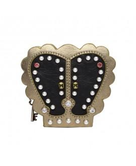 Vendula Pearl Queens Crown Shaped Coin Purse