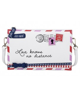 Vendula Post Box Envelope Shaped - Clutch Bag