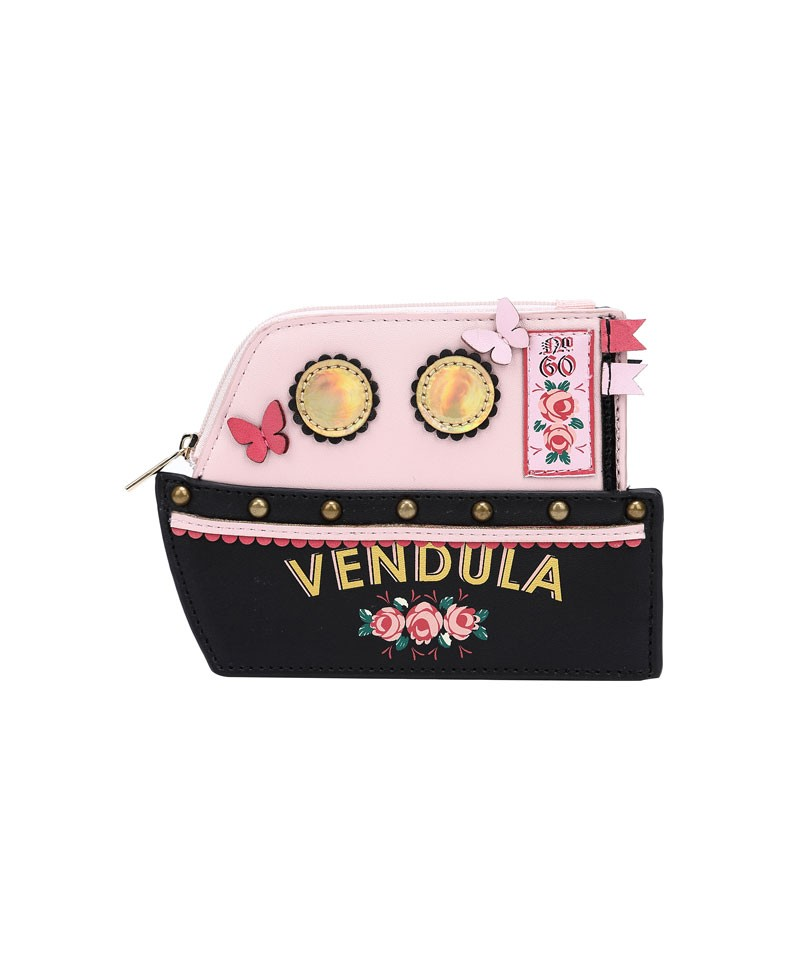 77c34b745 Vendula London Love Boat - Zipped Coin Purse - pink