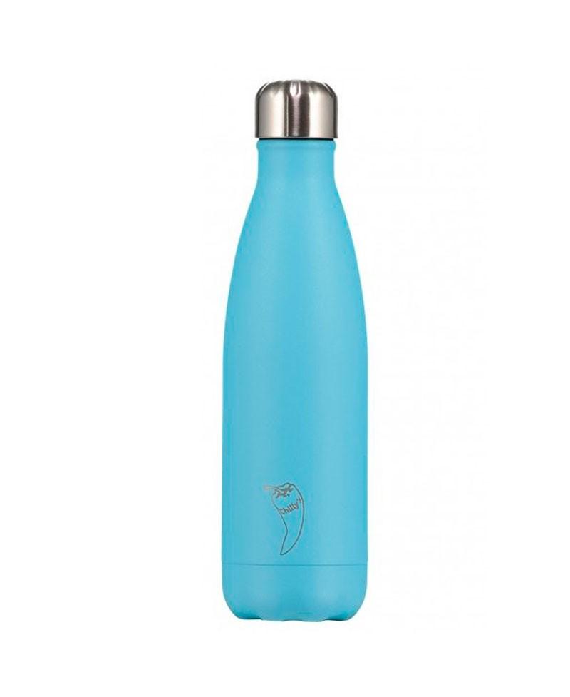 Chilly´s Bottles - Azul Pastel 500 ml