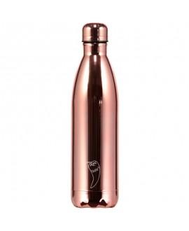 Chilly´s Bottles - Metal Rose Gold 750 ml