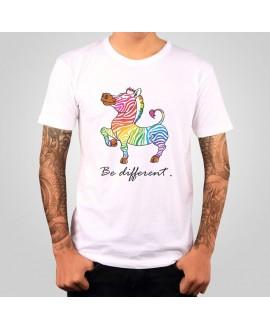 Camiseta Be Different - Tienda Alregría