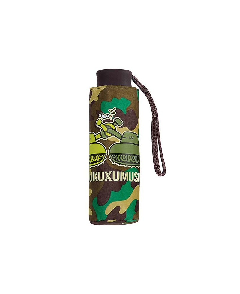761971c4055 Paraguas Kukuxumusu - Tanks camuflaje verde-marrón