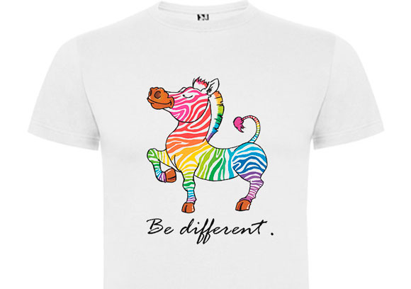 T Shirt - Be Different
